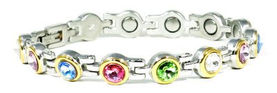 Color Play  - Magnetic Therapy Bracelet - 5,000 gauss magnets