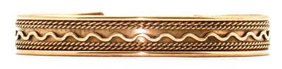 Comfort33 - Solid Copper Cuff Bracelet