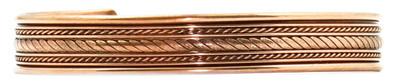 Comfort36 - Solid Copper Cuff Bracelet
