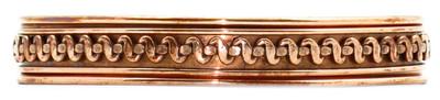 Comfort37 - Solid Copper Cuff Bracelet
