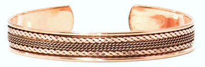 Comfort38 - Solid Copper Cuff Bracelet
