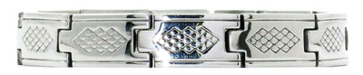 Southern Charm - Stainless Steel Magnetic Therapy Bracelet