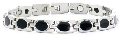 Eclipse - Stainless Steel Magnetic Therapy Bracelet