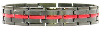 TYPE L - Powerful Stainless Steel Magnetic Bracelet With  5,000 Gauss Magnets Per Link