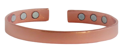 Economy Copper Plated Base Metal  Magnetic Therapy Bracelet