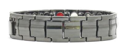 BP-Black Economy 4-Way Magnetic Therapy Bracelet