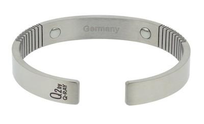 Germanium Stone Titanium Bracelet