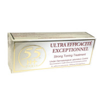 55H+ ULTRA Efficacite Exceptionnel Strong Toning Treatment Tube Cream 50g/1.7oz