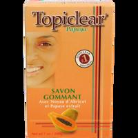 Topiclear Papaya Exfoliating Soap 7oz/200g