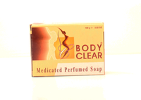 Body Clear Paris Medicated Perfumed Soap 3.52oz/100g