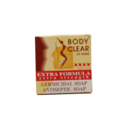 Body Clear Paris Germicidal Soap 3.52oz/100g