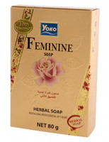YOKO-026 FEMININE Herbal SOAP(Gold box) 2.67 oz / 80gr