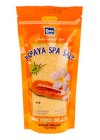 YOKO-418 Papaya SPA Salt (Zipper bag) 10 oz / 300gr