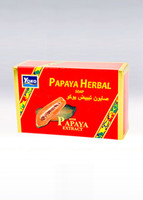 YOKO-025 PAPAYA  HERBAL SOAP(Red Box)  4.5 oz / 135gr