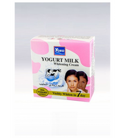 YOKO-486 Yogurt Milk Whitening Cream (Jar+Box) 0.13 oz / 4gr
