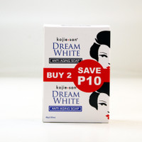 Kojiesan #468 Dream White Anti-Aging SOAP (White box 2pcs x 65g / Pack) 4.58oz / 130g