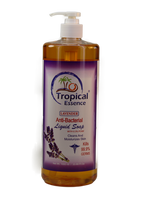 Tropical Essence Lavender Anti Bacterial Liguid Soap 33.8 oz./ 1000ml