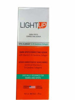 LIGHT UP(Orange / V-C,B Carotene) Dark Spots Correcting Serum w/Vitamin C,B 1oz / 30ml