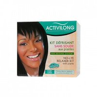 Activilong FORT/SUPER No-Lye Relaxer Kit with plants 14.3 oz #A-32