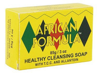 African Formula Healthy Cleansing Soap with T.C.C and Allantoin(Yellow) 2.8oz / 80g