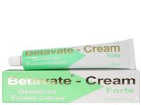 Betavate Germicida Fading 3% Tube  Cream 1.76 oz / 50 ml.