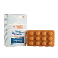Clair & White Lightening Exfoliating Carrot Soap 7 oz / 200 g