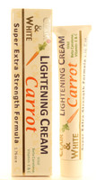 Clair & White Lightening Carrot Tube Cream 1.76oz/50ml