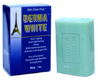 Derma White Aniti-aging Lightening Soap with Argan Oil 7 oz / 200 g