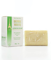 Derma White Lemon Soap Skin Lightening and Toning Soap 7oz(200g)