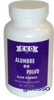 EKO Alumbre Powder/Alumber en Polvo 4oz/118ml