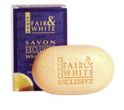 Fair & White Exclusive Whitenizer Soap Vit-C Exfoliating 7 oz / 200 g