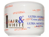 Fair & White Jar Cream (White) Ultra Moisturizing Body 13.5 oz / 400 ml