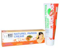 H20 Natural Papaya Tube Cream 1.76 oz / 50 g