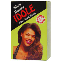 Idole Shea Butter Aloe Vera Soap (Green) 7 oz / 200 g
