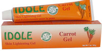 Idole Skin Lightening Carrot Gel1oz/30g