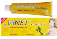 Janet lightening Lemon Cream (Tube) 1 oz / 30 g