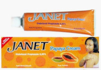 Janet Papaya Cream (Tube) 1 oz / 30 gr