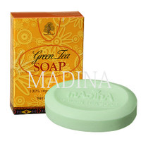 Madina Green Tea Soap with Vit.E 3.5 oz