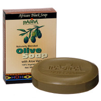 Madina Olive Soap with Aloe Vera 3.5 oz
