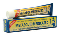 Metasol Medicated Skin Toning Tube Cream 1.76 oz / 50 g