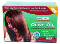 Michell Group Organic Virgin Olive Oil Hair Relaxer Kit