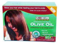 Michell Group Organic Virgin Olive Oil Hair Relaxer Kit