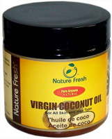 Nature Fresh Organic 100% Pure Coconut Oil 4oz