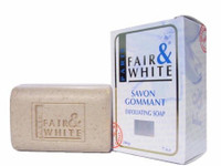 Fair & White Savon Gommant Exfoliating Soap (White) 7 oz / 200 gr