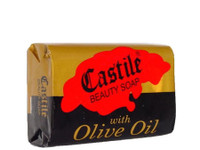 Castile Beauty Soap With Olive Oil (Red) 4.41 oz / 125 g