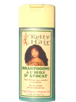 Ketty Hair Shampoo Avocado Oil 8.4 oz / 250 ml