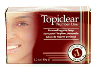 Topiclear Number 1 (face) Hygenic Soap 3 oz / 85 g