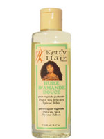 Ketty Hair Almond Oil (D'AMANDE) 8.47 oz / 100 ml