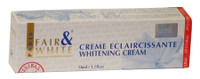 Fair & White Cream Eclaircissante whitening cream(White Tube) 1.7 oz / 50 ml