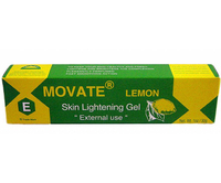 Movate E Lemon Skin Lightening Tube Gel  (Y/G)1oz / 30g